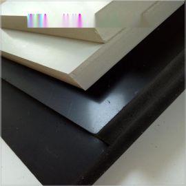 黑色灰色pvc发泡板雪弗板 10mm厚 0.5高密度结皮