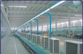 空调主机生产线