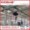 供应360°手动工字钢悬臂起重机配智能提升机AI80-600KG