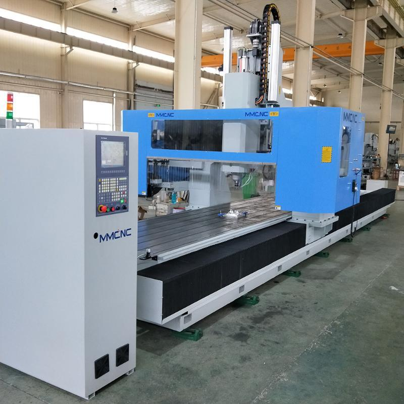 工业铝型材三轴数控加工中心轨道交通数控加工设备