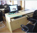 博奥BRSE-5A板式双位显示器升降电脑桌厂家