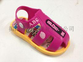 揭阳厂家供应儿童卡通凉鞋