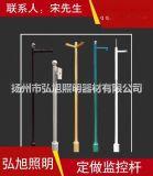 揚州弘旭生產3米小區不鏽鋼監控立杆