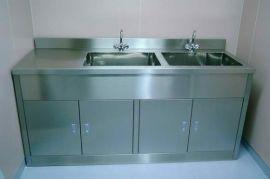 鑫邦不锈钢双人净化洗手池 手术室双人洗手台