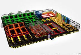 大型室内健身蹦床 儿童主题公园 儿童组合蹦蹦床