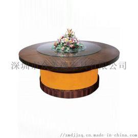 工厂生产现代圆餐桌餐桌椅组合纯实木餐桌全国配送安装