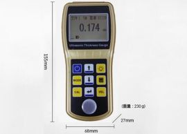 超声波检测仪 中科普锐PRUT330超声波测厚仪