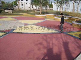 鹤壁彩色透水混凝土海绵城市路面铺装材料厂家原装现货