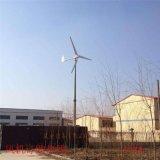 5000瓦家用風力發電機遇颱風自動剎車尾翼三重保護