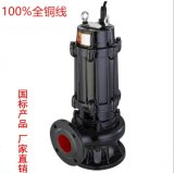 QW潛水排污泵 淤泥推動攪勻泵 抽水泵 無堵塞排污泵