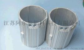 规格齐全铝型材电机外壳 电机壳铝型材开模挤压定做