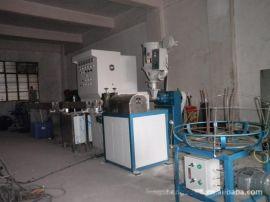全自动铁线包胶机自动线材包胶机押出机包覆生产线