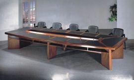 折叠会议台