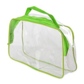 环保PVC旅行洗漱品便携袋 日用品包装袋