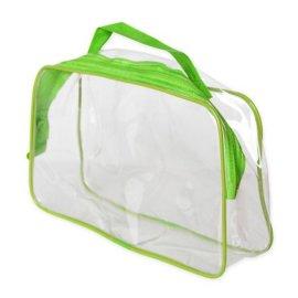环保PVC旅行洗漱品便携袋,PVC日用品包装袋,PVC旅行便携包
