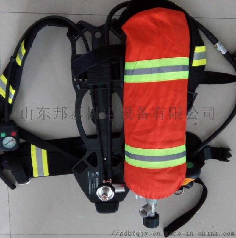 恒泰RHZKF9.0正压式呼吸器的使用方法