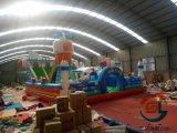 安徽阜陽新款太空梭充氣滑梯大型的