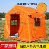 厂家直销野户外露营充气帐篷 3-5人免搭建帐篷