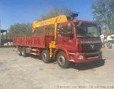 欧曼前四后八14-16吨随车起重运输车
