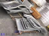 各种木纹异形铝单板 弧形铝单板来图纸深化定做