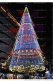 大型模擬聖誕樹 戶外景點耶誕節led燈場景佈置