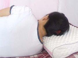 充气记忆海绵枕头