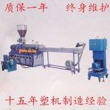 平行雙螺桿 氧化鎂/ 氧化鋁阻燃造粒機生產廠家