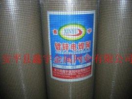 工厂直销鑫宇热镀铁丝网, 镀锌电焊网