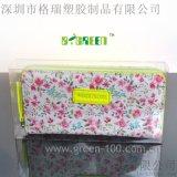 透明抗刮花PET手提袋包装盒手提包塑料盒