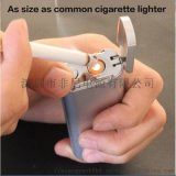 迷你版点烟器定制图案金属质感移动电源打火机厂家