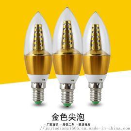 厂家直销黄光白光 led蜡烛灯泡