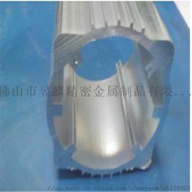 昱麟厂家定制 电源盒外壳铝型材6063氧化喷砂黑色精锯加工铝合金