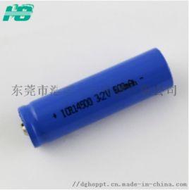 14500**铁**电池600mAh3.2V伏相机电池5号充电**电池定制