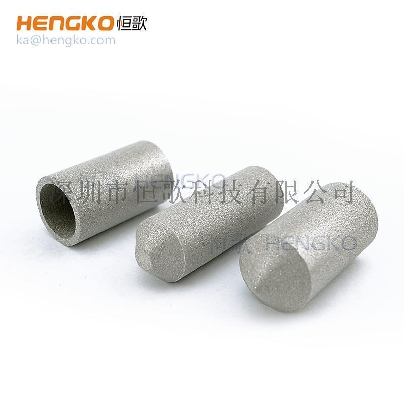 恒歌加工定制**耐腐蚀温湿度探头不锈钢粉末烧结滤芯