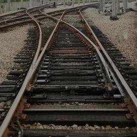 专线9838木枕50-7AT铁路单开道岔