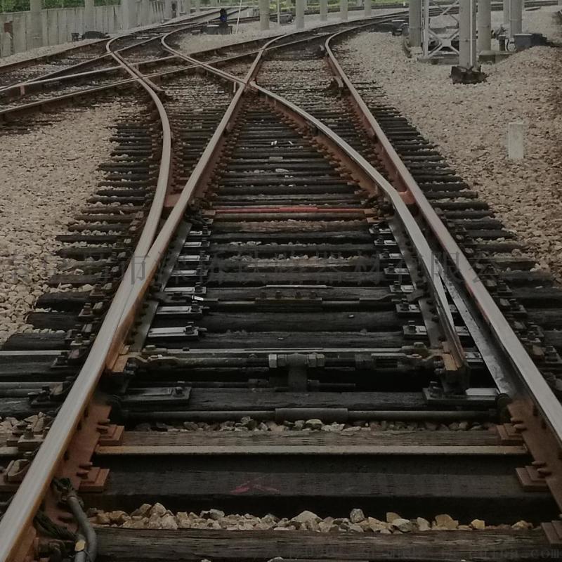 專線9838木枕50-7AT鐵路單開道岔