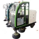 驾驶室电动新能源扫地机 扫吸结合带喷水的扫地车