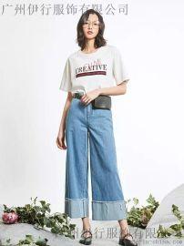 广州白马服装市场新作品牌折扣货源**女装尾货走份