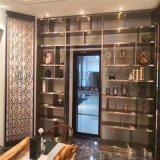 供應酒吧紅酒櫃不鏽鋼簡約酒櫃定製