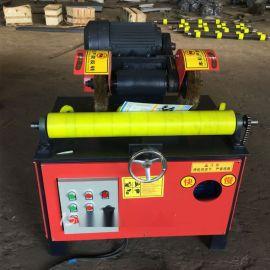 升级版单工位天然气钢管抛光机,除锈机,喷漆机