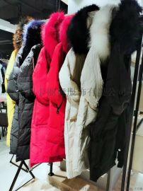时尚个性潮牌女装折扣尾货品牌专柜女装一手货源