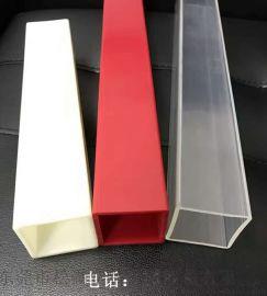 PVC塑料卡槽滑轨异型材来图定做
