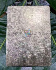 拉丝古铜不锈钢装饰板厂家定制
