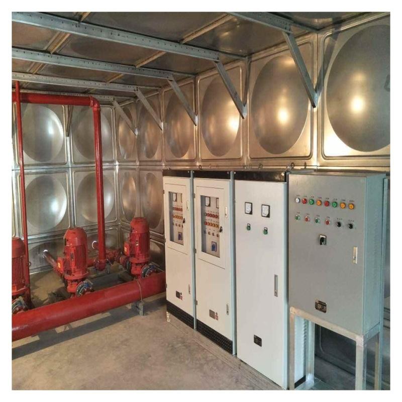 南康消防组合玻璃钢水箱 无菌水箱