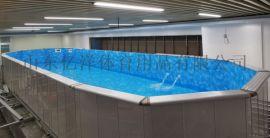  装配式游泳池建造 钢结构游泳池生产厂家