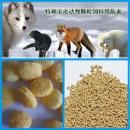 时产550公斤三螺杆玉米饲料膨化机 狐狸饲料膨化机