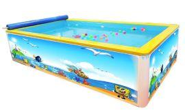潍坊婴儿游泳池厂家金色太阳钢结构组装儿童游泳池水上乐园设备