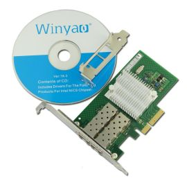 WYI350F2-SFP PCI-E千兆服务器光纤网卡