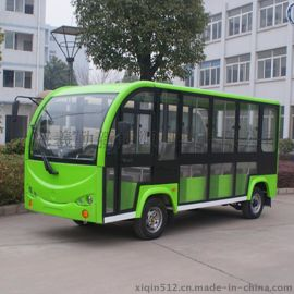 廠家直銷11座電動全封閉觀光車,旅遊接待車 電動看房車