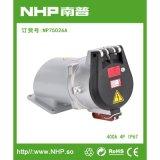NHP南普 400A明装大电流防水插座 欧标IP67插座